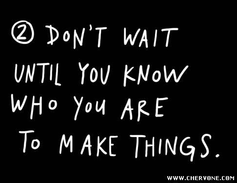 Щоб почати діяти, не треба чекати